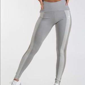 Gymshark Sleek Sculpture Leggings Light Gray